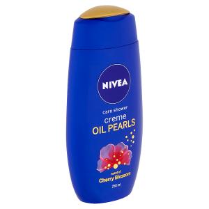 Nivea Creme Oil Pearls Cherry Blossom Pečující sprchový gel 250ml