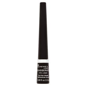 Rimmel London Exaggerate Eye Liner 001 100% Black 2,5ml