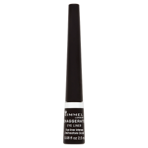 Rimmel London Exaggerate Eye Liner 001 100% Black 2,5ml