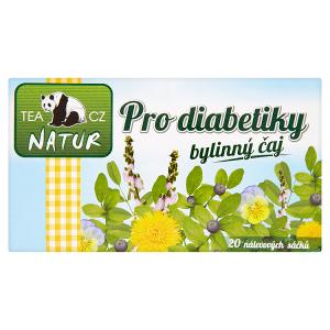 Panda Natur Pro diabetiky bylinný čaj 20 x 1,5g