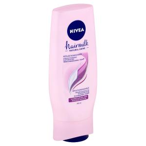 Nivea Hairmilk Natural Shine Pečující kondicionér 200ml
