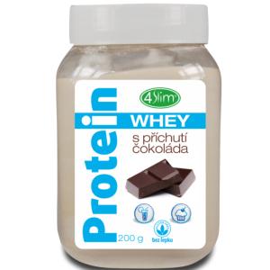 4Slim Whey protein s příchutí čokoláda 200g