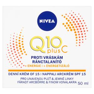 Nivea Q10 Plus C Energizující denní krém proti vráskám OF 15 50ml