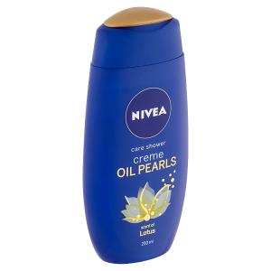 Nivea Creme Oil Pearls Lotus Pečující sprchový gel 250ml