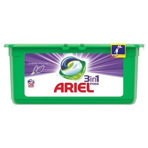 Ariel Lavender Kapsle Na Praní Prádla 3v1 28Praní