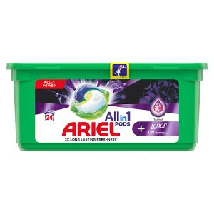 Ariel Allin1 Pods +Unstoppables Kapsle Na Praní 24 Praní
