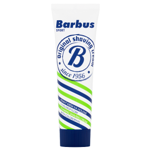 Barbus Sport krém na holení s chlorofylem 75g