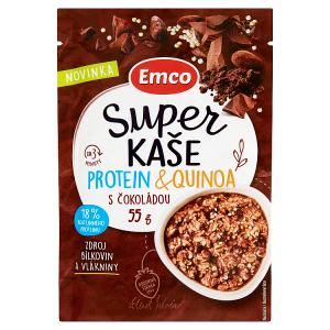 Emco Super kaše protein & quinoa s čokoládou 55g