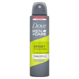 Dove Men+Care Sport Active Fresh antiperspirant sprej pro muže 150ml