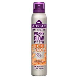 Aussie Wash+Blow Peach Fusion Suchý Š. 180ml