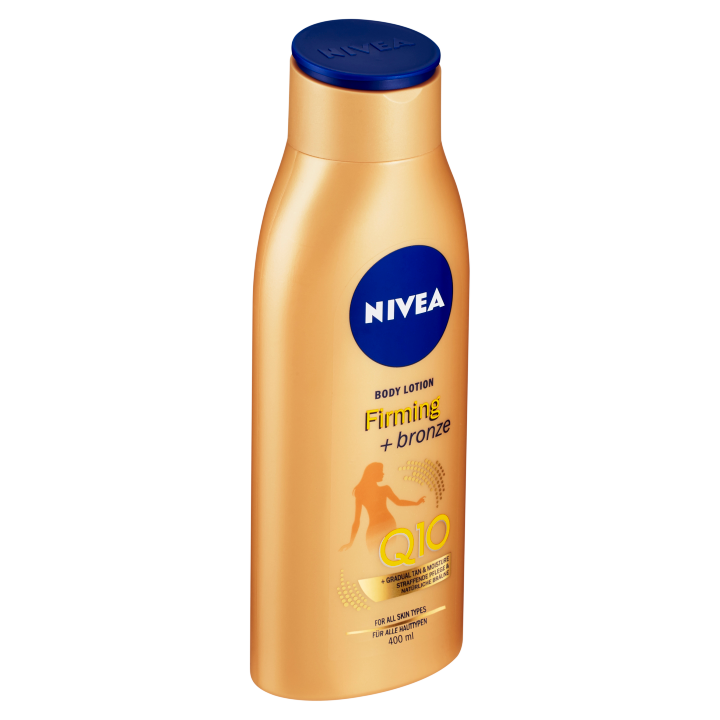Nivea Q10 Zpevňující tónovací tělové mléko 400ml