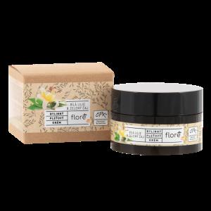 Floré Bylinný pleťový krém bílá lilie & zelený čaj  50ml