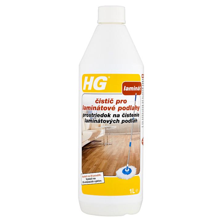 HG Čistič pro laminátové podlahy 1l