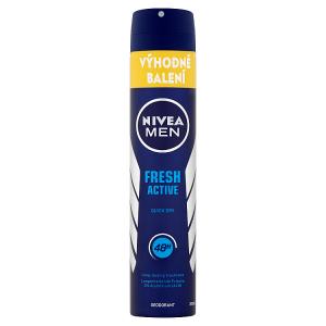 Nivea Men Fresh Active Sprej deodorant 200ml