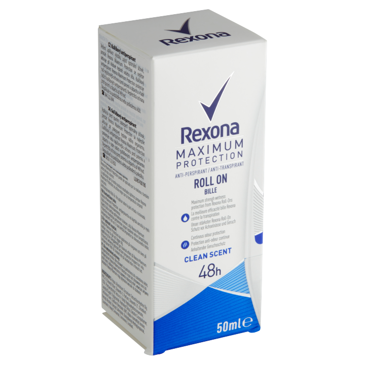 Rexona Maximum Protection Clean Scent kuličkový antiperspirant 50ml