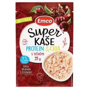 Emco Super kaše protein & chia s višněmi 55g