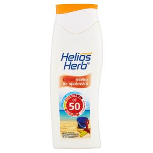 Helios Herb Dětské mléko na opalování OF 50 200ml