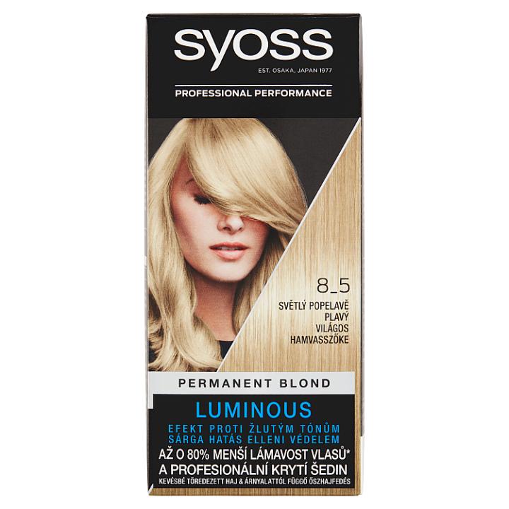 Syoss barva na vlasy Světlý Popelavě Plavý 8_5