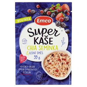 Emco Super kaše chia semínka & lesní směs 55g