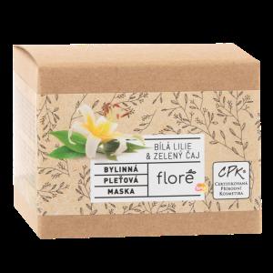 Floré Bylinná pleťová maska bílá lilie & zelený čaj 50ml