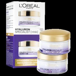L'Oréal Hyaluron Specialist denní a noční krém 2x50ml