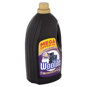 Woolite Darks, Black, Denim tekutý prací přípravek 75 praní 4,5l