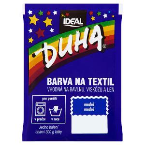 Duha Barva na textil modrá 15g