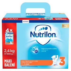 Nutrilon 3 mléčná výživa pro malé děti 12-24 měsíců 4 x 600g