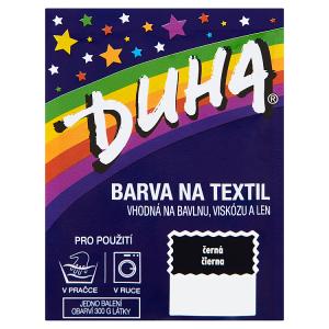 Duha Barva na textil černá 15g