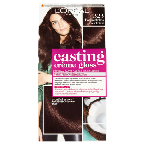 L'Oréal Paris Casting Crème Gloss Hořká čokoláda 323