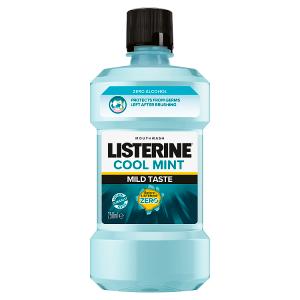 Listerine Cool Mint Mild Taste ústní voda 250ml