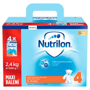 Nutrilon 4 mléčná výživa pro malé děti 24-36 měsíců 4 x 600g