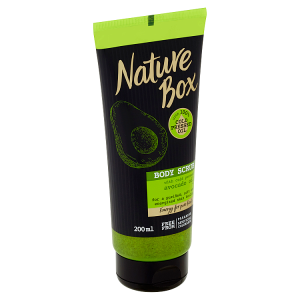 Nature Box tělový peeling Avocado Oil 200ml