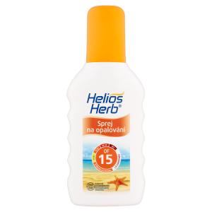 Helios Herb Sprej na opalování OF 15 200ml