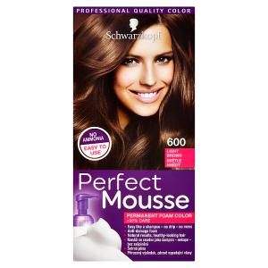 Schwarzkopf Perfect Mousse barva na vlasy Světle Hnědý 600