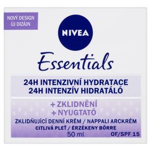Nivea Essentials Zklidňující denní krém pro citlivou pleť OF 15 50ml
