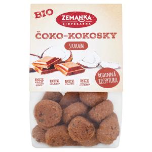 Biopekárna Zemanka Bio čoko-kokosky s kakaem 100g