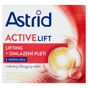 Astrid Active Lift Noční krém lifting + omlazení pleti 50+ 50ml
