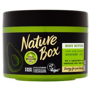 Nature Box tělové máslo Avocado Oil 200ml