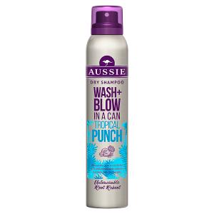 Aussie Wash + Blow Tropical Punch Suchý Šampon 180 ml