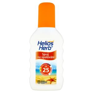 Helios Herb Sprej na opalování OF 25 200ml