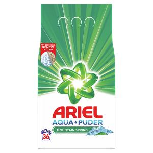Ariel AquaPuder  Mountain Spring Prací Prášek 36 Praní