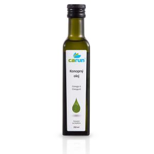 Carun konopný panenský olej 250ml