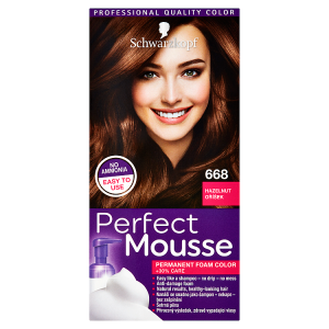 Schwarzkopf Perfect Mousse barva na vlasy Oříšek 668