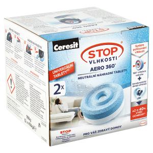 Ceresit Stop Vlhkosti Aero 360° náhradní tablety 900g
