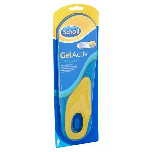 Scholl GelActiv Everyday vložky do bot - běžný den