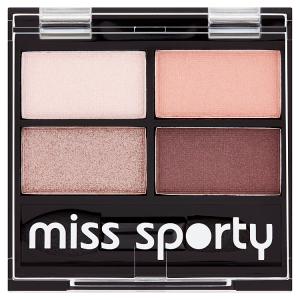 Miss Sporty Studio Colour Quattro eye shadow 408 smoky rose