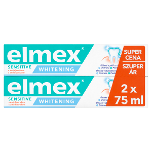 elmex Sensitive Whitening zubní pasta 2 x 75ml