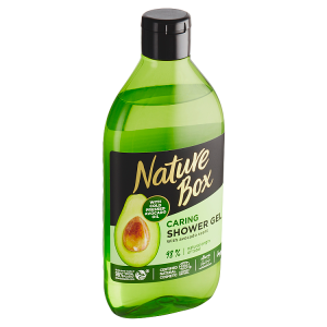 Nature Box Caring sprchový gel Avocado Oil 385ml