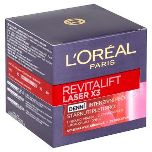 L'Oréal Paris Revitalift Laser X3 denní intenzivní péče proti stárnutí pleti 50ml